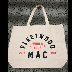 Handbags - NWOT Fleerwood Mac world tour reusable bag